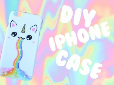 DIY Unicorn Rainbow IPhone Case