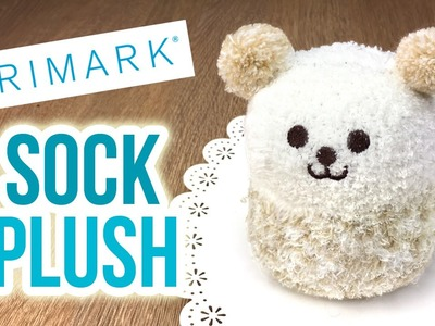 DIY Xmas Gifts - Primark Sock Plushies!! CHEAP and EASY to make