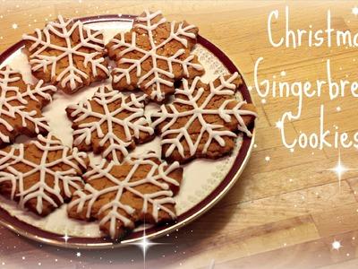 Gingerbread Christmas Cookies. Biscuits | ThoseRosieDays