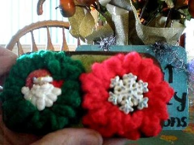 Holiday.Christmas Flower Swap Flowers Group 1 & 2