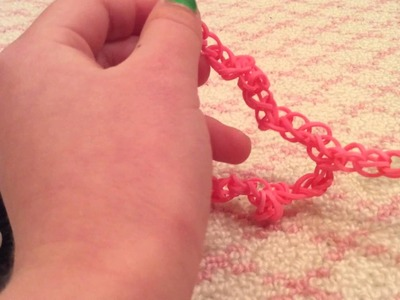 How to make a rainbow loom leash