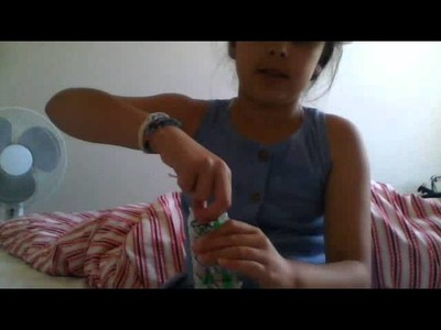 How to make rainbow loom double braid with one loom