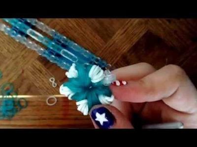 JJ Tutorials: Rainbow Loom Snowflake Bracelet