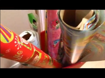 LIFE HACKS- Wrapping Paper Clip Fail