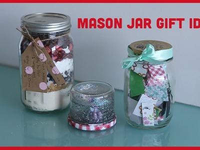 Mason Jar Gift Ideas | Christmas Vlogs