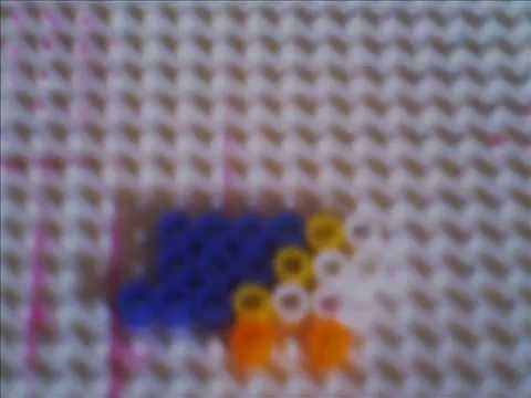 Perler bead bird- Forwards!!!!