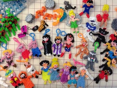 Rainbow Loom : Izzalicious Designs Overview
