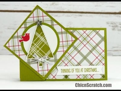 Twist Turn Christmas Card
