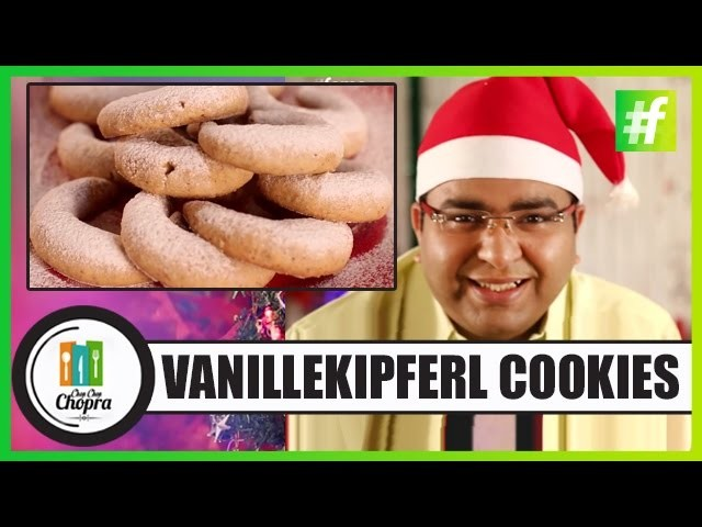 Vanillekipferl (German Vanilla Crescents) Special Dish For Special Occasion