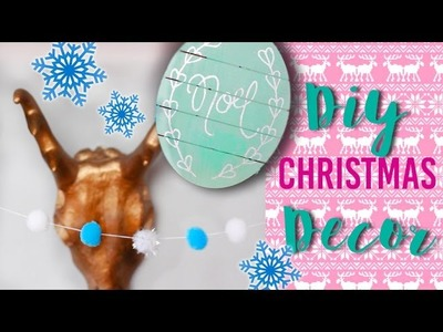 DIY £1 Christmas Decorations! Budget Decor