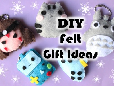 DIY CHRISTMAS FELT GIFT IDEAS ❤