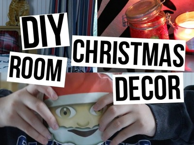 DIY Christmas Room Decor | Cheap & Easy