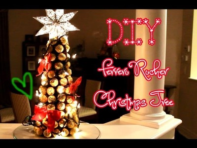 DIY Ferrero Rocher Christmas Tree