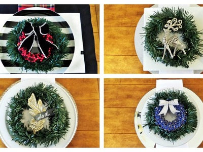 Dollar Tree Christmas DIY | Creative Ways To Use Wreaths