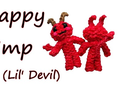 Happy Imp (Lil' Devil) Tutorial by feelinspiffy (Rainbow Loom)