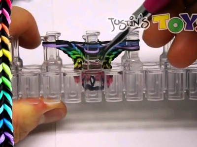 RainBow Loom Netherlands FLEXAFISH Variations Tutorial 4 in 1 Rainbow Loom Bracelet Designs
