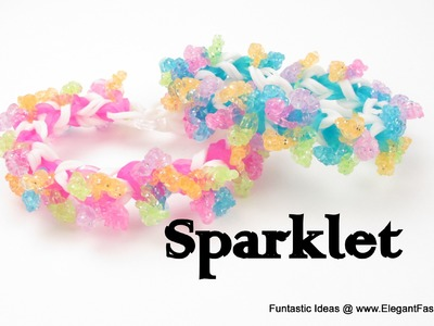 Rainbow Loom Sparklet Bracelet - How to