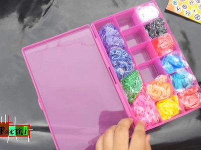 Rainbow Loom. Unboxing Cra-Z Art Cra-Z Loom Kit | Mr.Remi EverythingCool