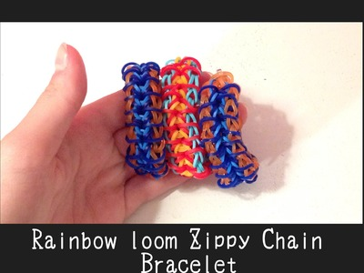 Rainbow Loom Zippy Chain Tutorial by Ribbistar