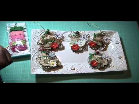 2015 Christmas In July series ~ Bird Cage Ornaments