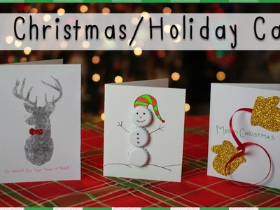 DIY Christmas.Holiday Cards | Mademoiselle Ruta