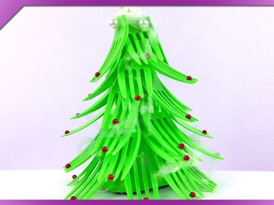 DIY Fork Christmas tree (ENG Subtitles) - Speed up #159