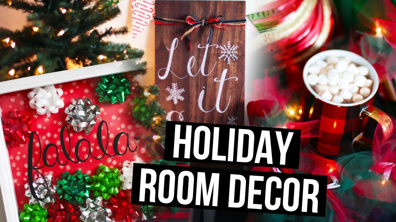 DIY Holiday Room Decor Ideas & Christmas Makeover! | LaurDIY