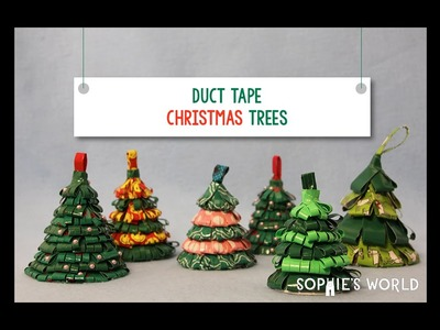 Duct Tape Christmas Tree Ornament|Sophie's World