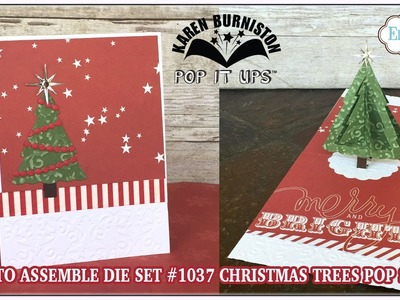Pop it Ups 1037 Christmas Trees Pop Stand Assembly
