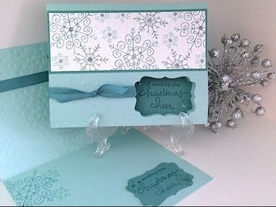 Simply Simple FLASH CARD 2.0 - Endless Christmas Wishes Card by Connie Stewart