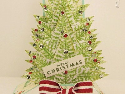 Christmas Tree Card In A Box Stampin Up UK - part 2