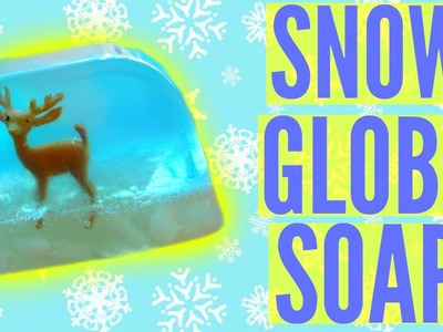 DIY SNOW GLOBE SOAP! | DIY Christmas Gift Idea!