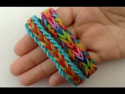 Doublet Rainbow Loom Bracelet Tutorial | How To