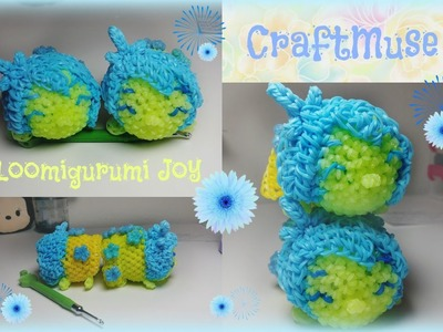 Rainbow Loom Loomigurumi Joy (Inspired By TSUM TSUM)