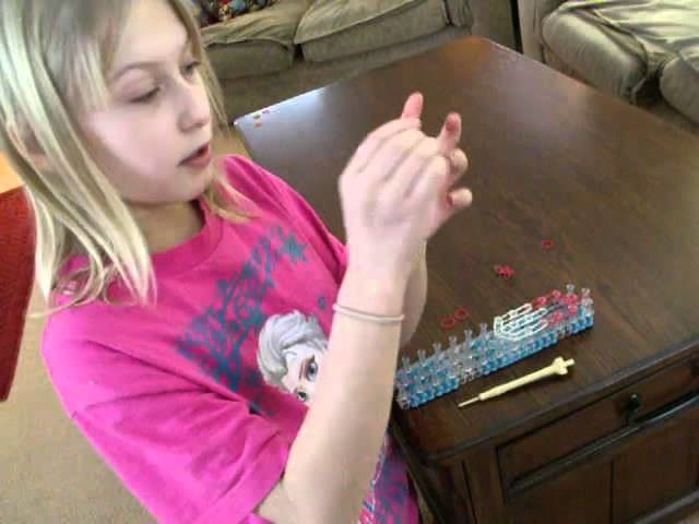 Rainbow Loom Pokemon Ball - Easy
