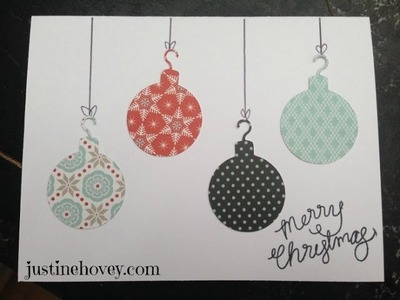 12 Days of Christmas *Day 10* Beginner Cards