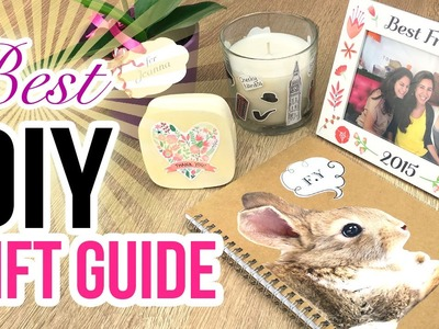 CUTE and CHEAP Xmas Gift Ideas! The Ultimate Guide for Making DIY Christmas Presents!