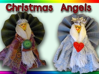 DIY Christmas Angel Ornaments