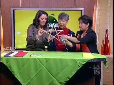 How to Make a Parol (Christmas Lantern), Part I
