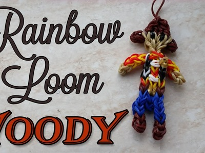 How to Make Rainbow Loom Woody Figurine Toy Story Regenboog Loom Monster Tail