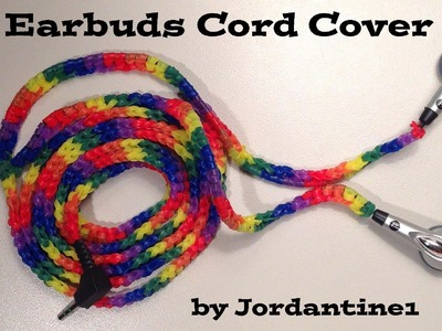 New Earbuds Cord Cover - Alpha. Rainbow Loom Rubber Bands - Hook Only - Loomless