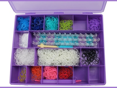 Organizing your Rainbow Loom stuff