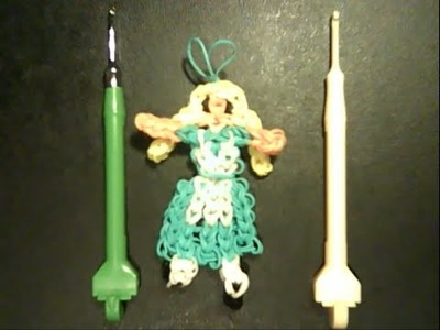 Rainbow Loom Alice in Wonderland Charm