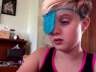 RAINBOW LOOM EYE PATCH REVIEW