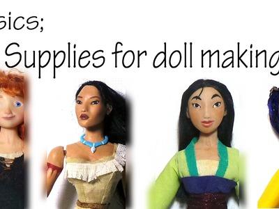 Basics; Sculpting Tools & Materials for Polymer Clay Dolls
