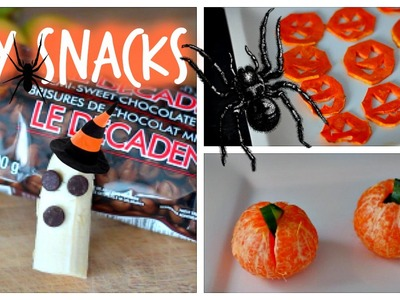 DIY Easy, Cheap & Healthy Halloween Snack Ideas