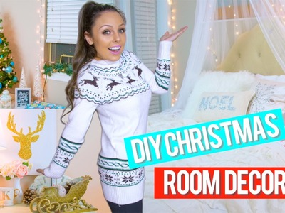 DIY Holiday Room Decor + Easy DIY Christmas Decorations! | Kristi-Anne Beil