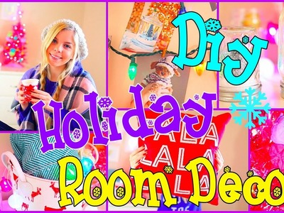 DIY Holiday Room Decor! Easy DIY Christmas Ideas!