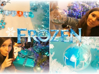FROZEN CHRISTMAS DIY