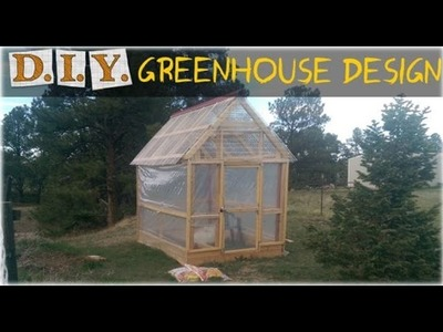 How to Build a Greenhouse DIY Design